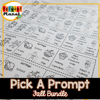 Fall Pick-a-Prompt Writing Bundle!