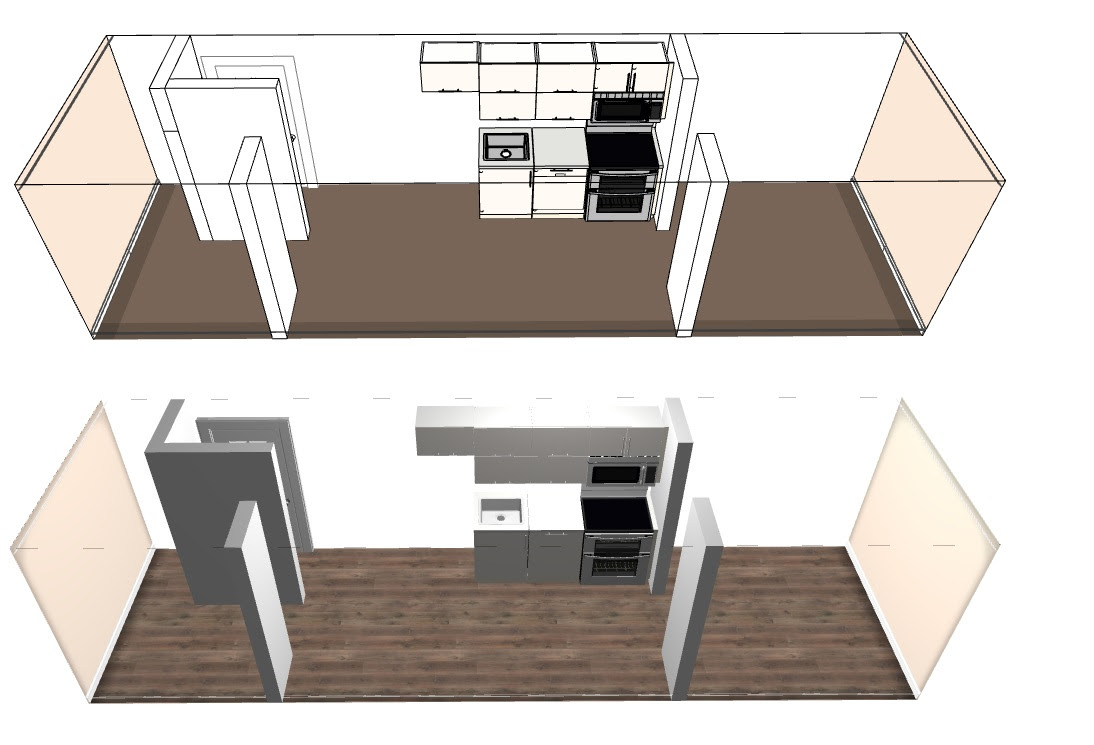 Update to my Tiny House with a home theater design. : TinyHouses