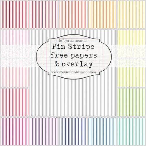 Collage preview pin stripe