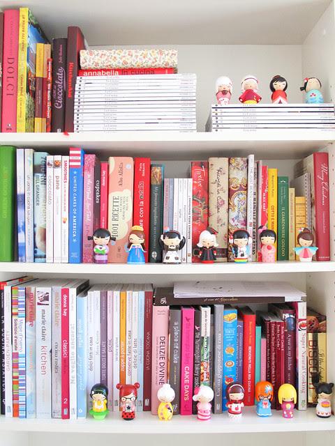 Cookbooks and momiji