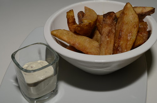 torch truffle fries