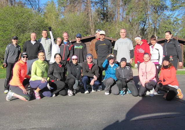 Waterfall Glen Group Run