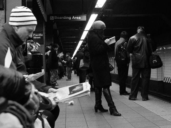Subway Platform, Brooklyn
