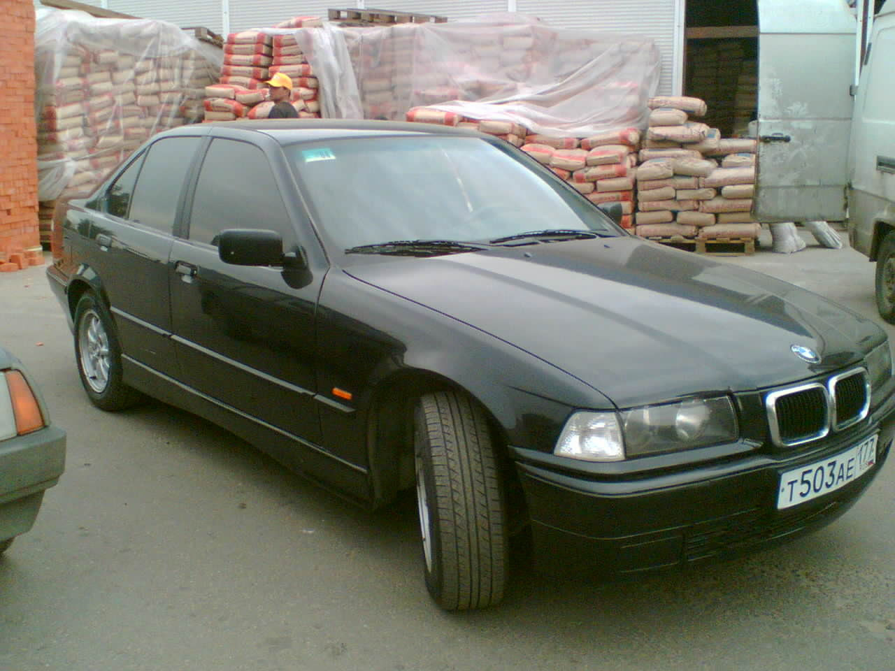1997 Morea Green Metallic BMW 3 Series 318i Sedan ...