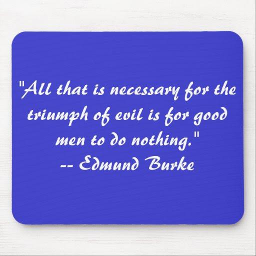 Edmund Burke Quote Mousep Pad Mouse Pad  Zazzle