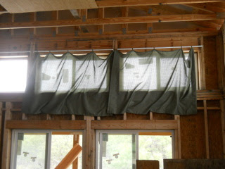 First Upper Window Drapes