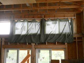 First Upper Window Drapes
