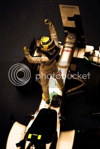 Victoria de Nico Rosberg en el GP de China 2012, Shanghai