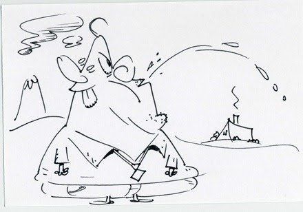 Sketches 2012 001_Spitting