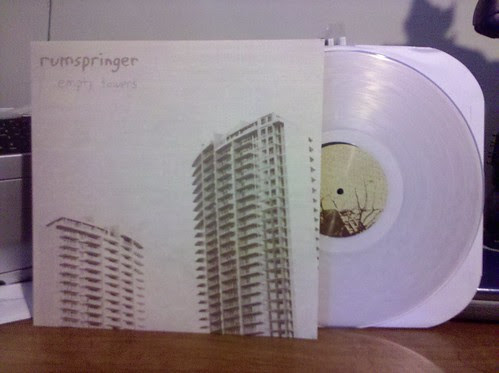 Rumspringer - Empty Towers LP - Clear Vinyl /113 by factportugal