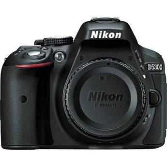 Nikon D5300 DSLR Camera (Black)