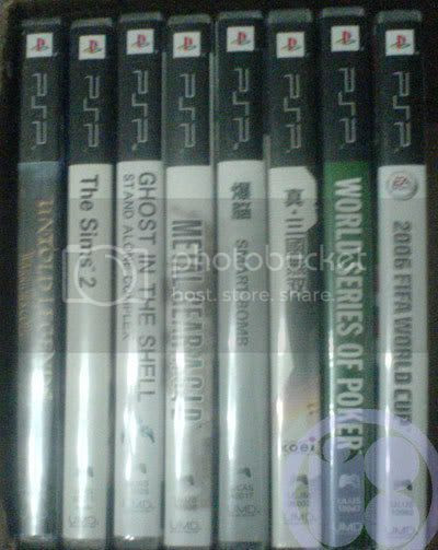 PSP UMD Collection at Photobucket