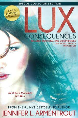 Consequences: Opal & Origin (Lux, #3-4)