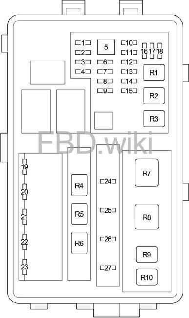 06 13 Lexus Is 250 300 350 220d Fuse Box Diagram