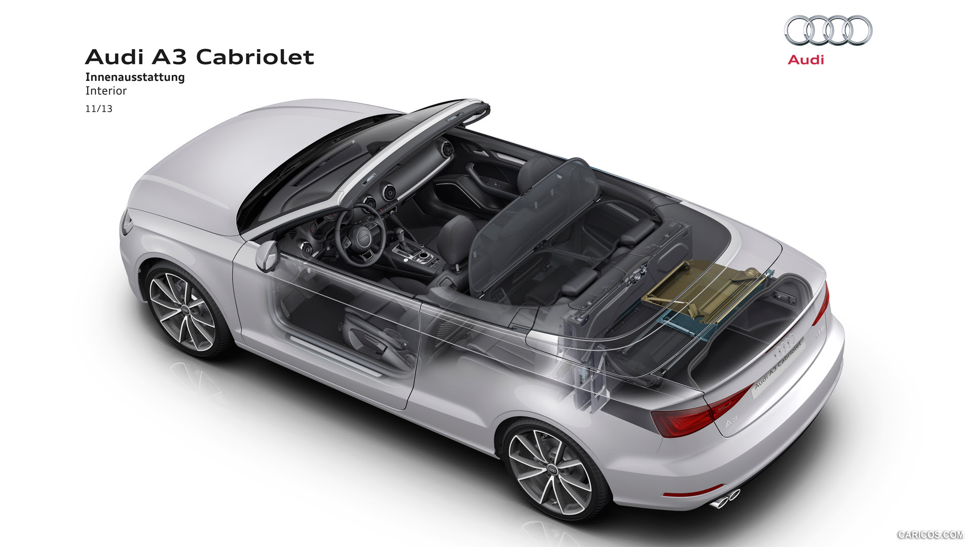 Audi A3 Cabriolet (2015) - Interior | HD Wallpaper #72 | 1920x1080