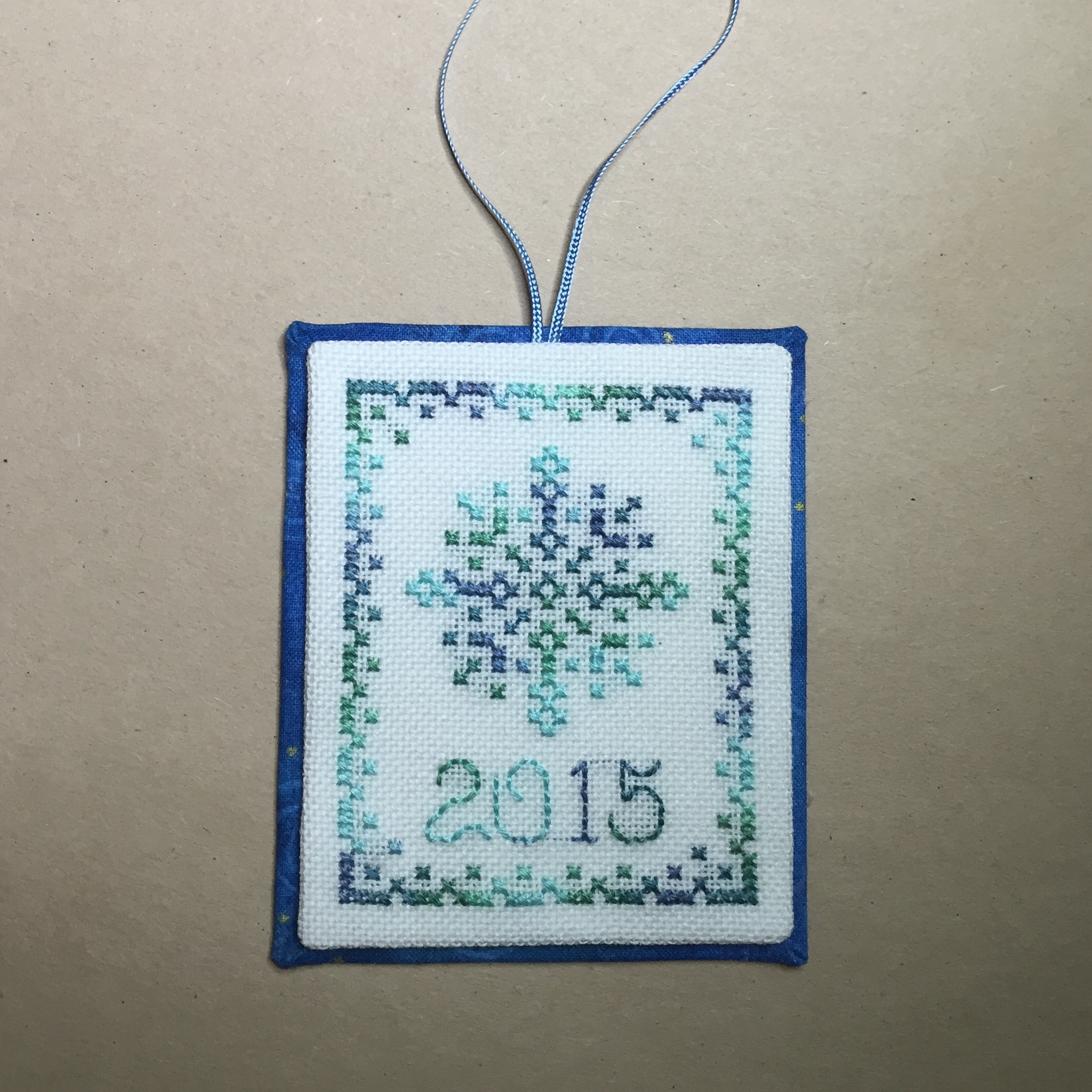 Quick Easy Ornament Finish Just One More Stitch