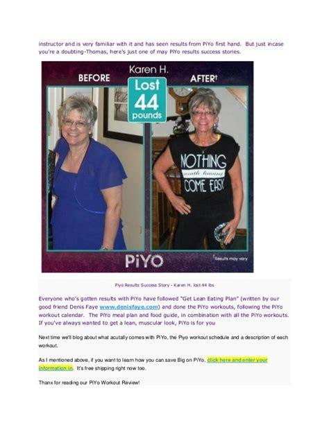 piyo workout review   piyo
