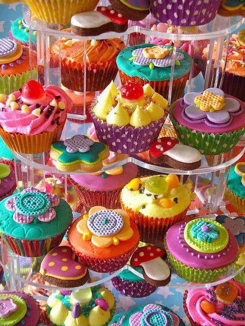 Cup cakes bridal shower idea?