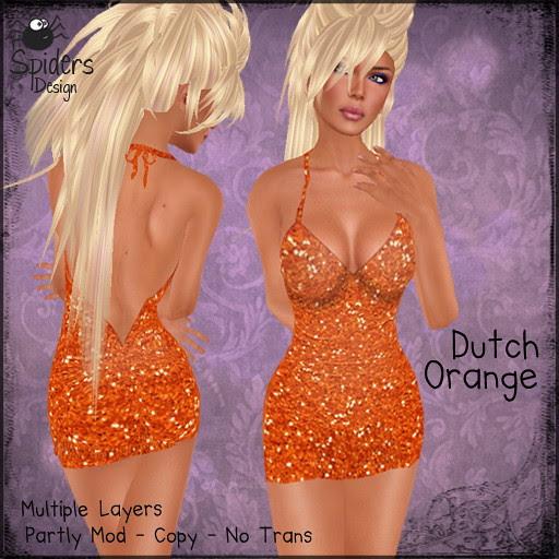 Dress Dutch Orange