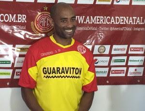 América-RN - Cascata, meia (Foto: Carlos Cruz/GloboEsporte.com)