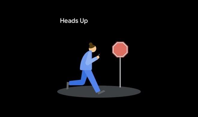 Android запускает функцию «Heads Up», которая призвана помочь смартфонным зомби