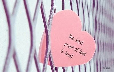The Best Proof Of Love Is Trust Quote Picture