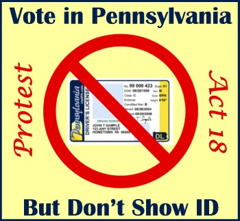 Protest Act 18: Don't Show ID