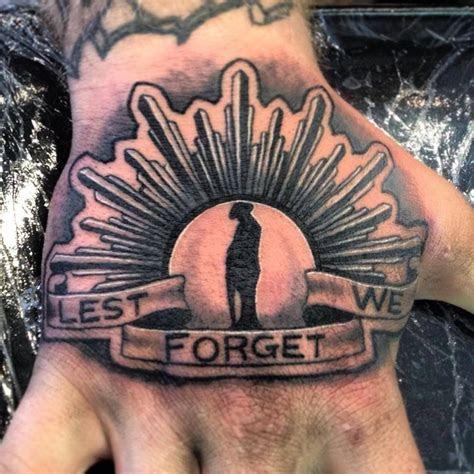 forget tattoo idea men hand