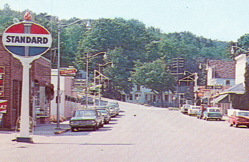 Beulah Mi Great Village View In 1960s On Crystal Lake Miss