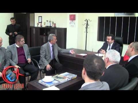Selçuk Üniversitesi Rektörünün Bozkır Meslek Yüksek Okulu Ziyareti 13.11.2012 Salı