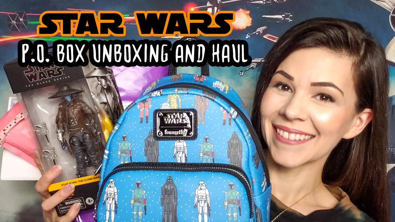 Star Wars P.O. Box Unboxing & Haul - January 2021