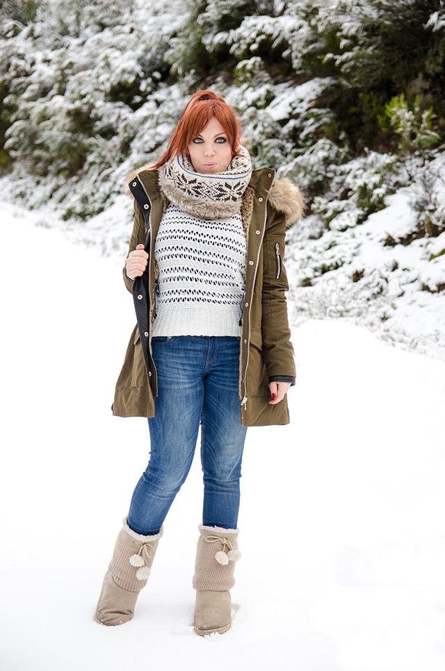 Un look para un día de nieve