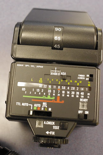 Pentax AF280T flash