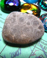 river stone from Christa Maria