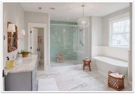 transitional bathroom ideas  alamo glass  mirror