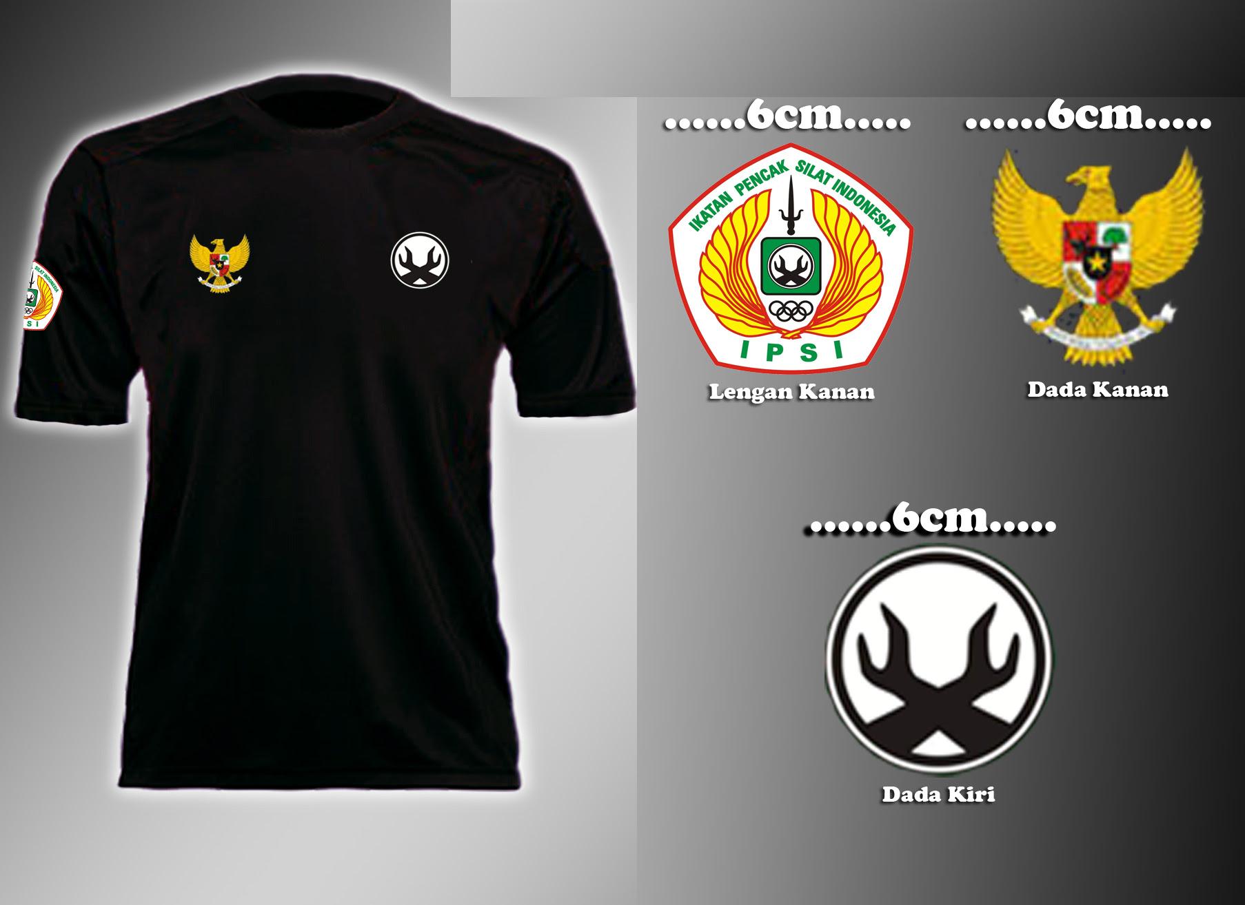 shirt Ikatan Pencak Silat Indonesia