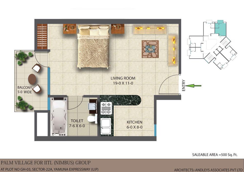 The 11 Best 500 Sq Ft Apartment Floor Plan House Plans