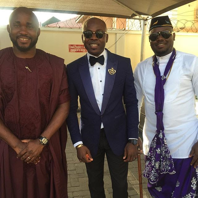 More photos from Ubi Franklin and Lilian Esoro's wedding