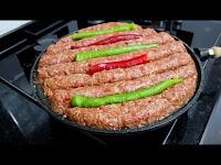 Şişe Çubuğa Gerek Yok Fırında Kebap Tarifi - Kolay Doğal Yemek Tarifleri