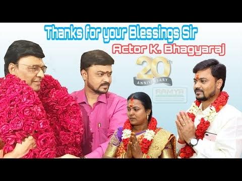 Thanks for your Blessings Actor K. Bhagyaraj Sir | Ramya Modular Kitchen