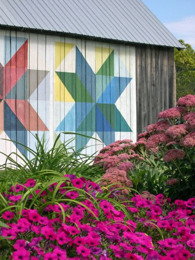 Ohio Quilt Barn Backdrop