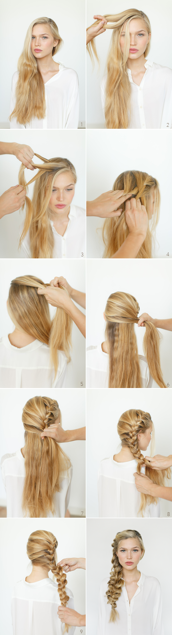 16 Stupendous Step By Step Hairstyle Tutorials Style For Hair
