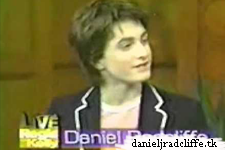 Daniel Radcliffe on Live! with Regis and Kelly