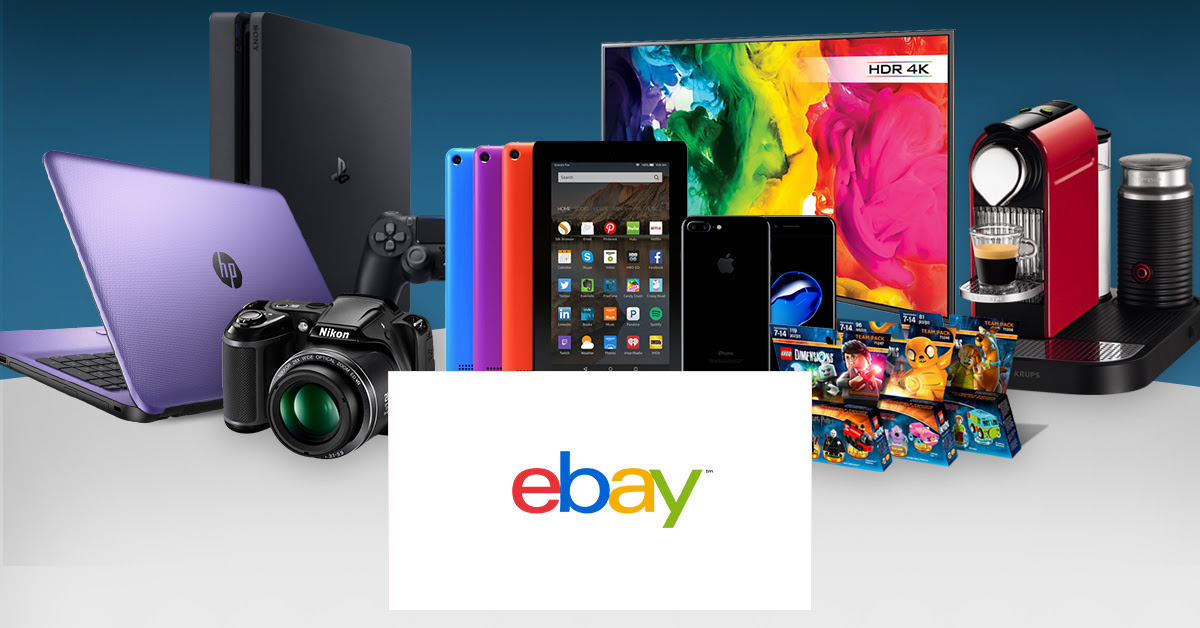 Save 10% off 15,000 eBay sellers until noon today with this voucher