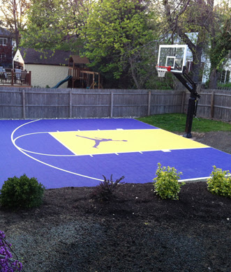 Huge Discount 9fc78 A4fbe Basketball Court Stencil For Driveway Pro