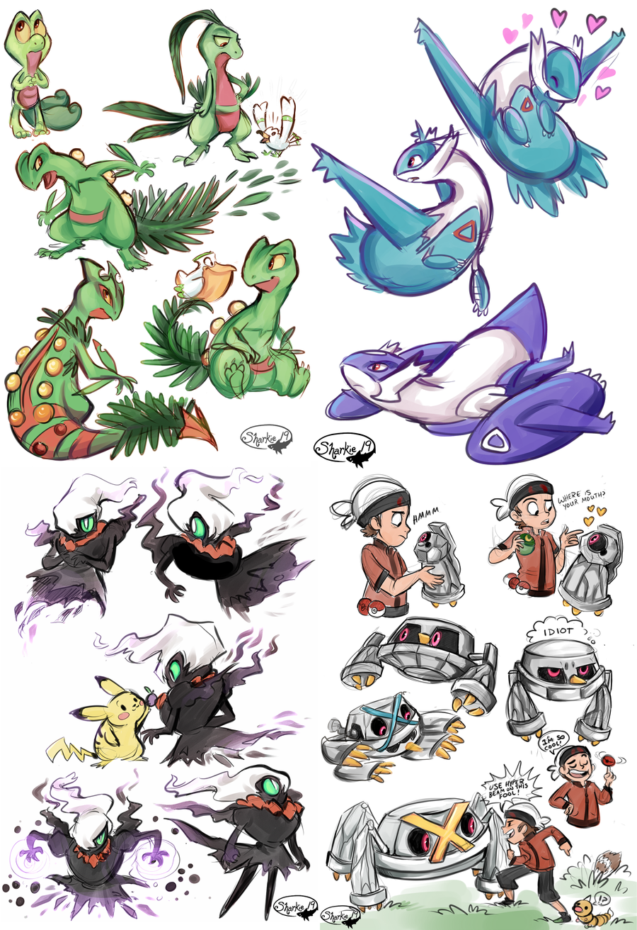 Pokemon Omega Ruby by sharkie19 on DeviantArt
