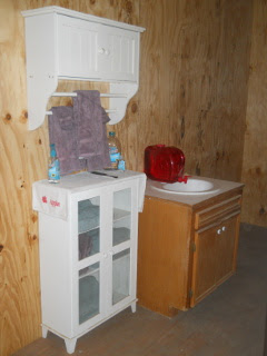 Bathroom Cabinets & Sink