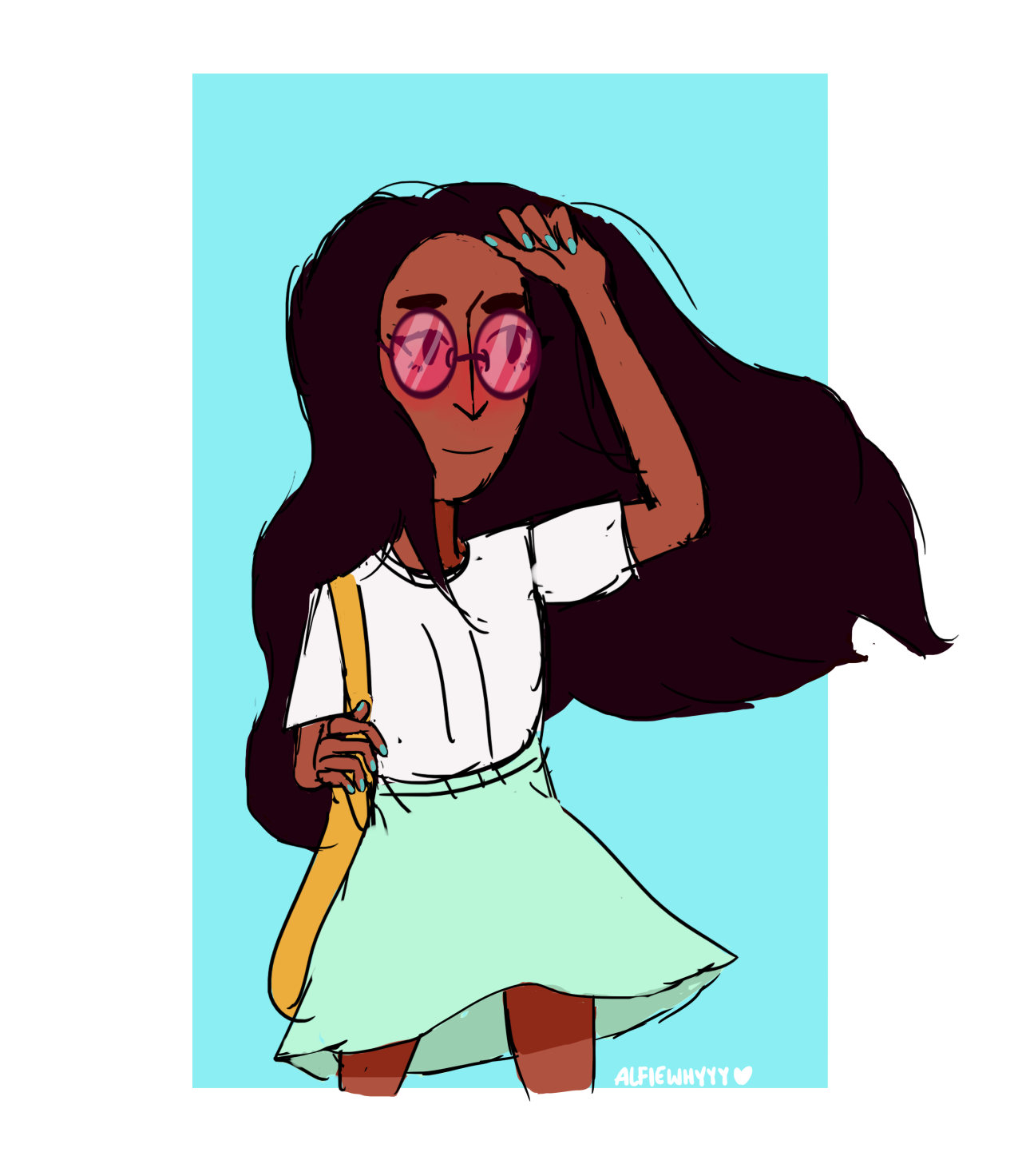 Day 8: My Daughter!! Connie is so precious and I seriously relate to her. She is my second favourite character and I would pretty much rank her with first with Pearl. Please REBLOG and REPOST/SHARE if...