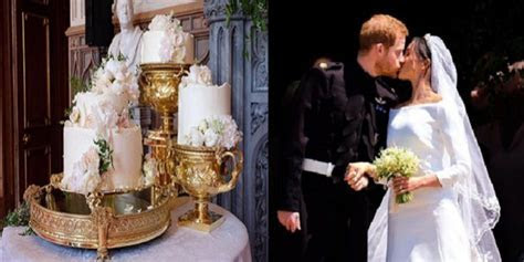 Prince Harry and Meghan Markle's wedding cake   D STAR NEWS