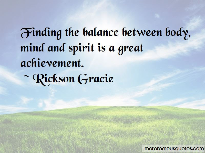 Mind Body Spirit Balance Quotes Top 10 Quotes About Mind Body